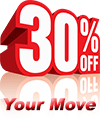 Moving Discount 30 Percent Off