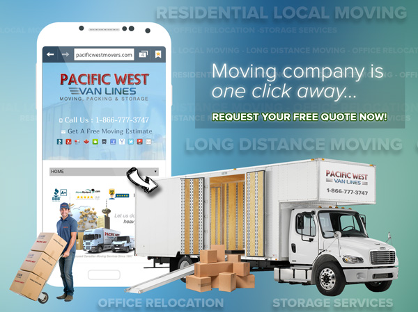 Free Moving Quote Request