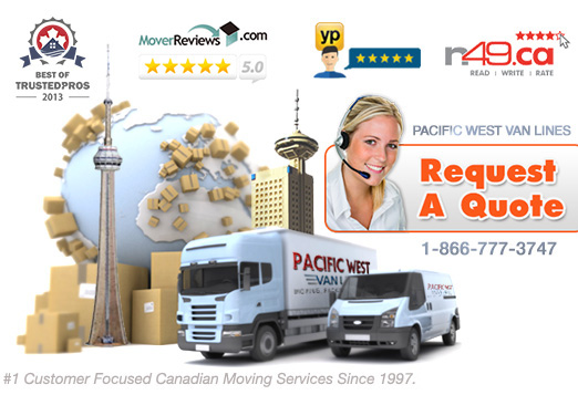 Pacific West Movers - Vancouver Moving Company - Affordable Relocation
